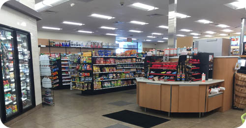 Convenience Store Shelving