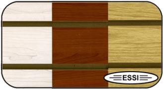 Wood Grain Slatwall Panels